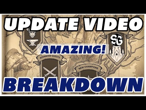 2.2 + 2.3 Forge, Tomes, Tower & Champs Video breakdown RAID SHADOW LEGENDS UPDATE 2.2 & 2.3