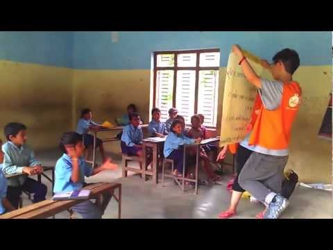 2012 Nepal Salang Ghat International Volunteer