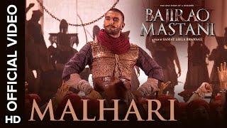 Malhari Official Video Song | Bajirao Mastani | Ranveer Singh width=