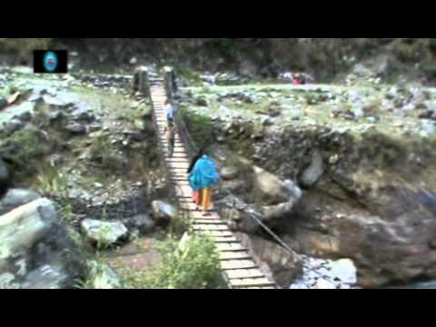 In the Banks of Kali Gandaki in Dana