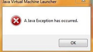 Minecraft Error Java Exception Has Occurred (SOLUCION 2017) FUNCIONANDO