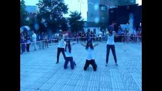 """grupo avanzado aros5  """"coreografia propia"""""""