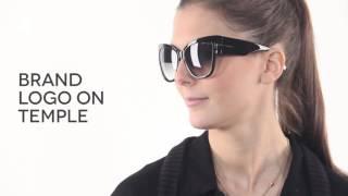 26514dffd4 Tom Ford FT0371 ANOUSHKA 01B Sunglasses Black
