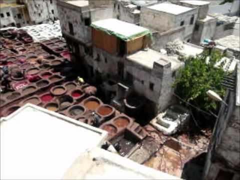 Morocco tannery.wmv