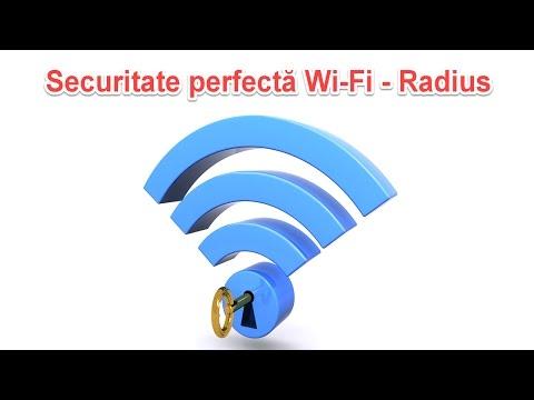 Cea mai buna securitate Wi-Fi, Enterprise cu server Radius