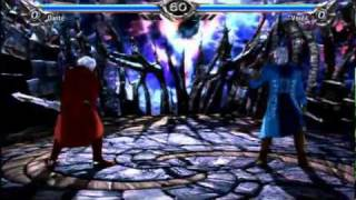 Soul Calibur 5 -  Devil May Cry DANTE vs. VERGIL