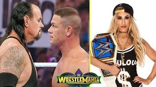 10 Late Breaking Rumors WWE WrestleMania 34 - Undertaker and John Cena Plans Revealed