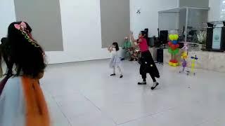 Coreografia Cheio de Alegria - Aline Barros
