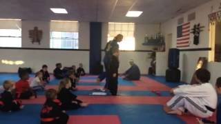 Matthew at Piasa Martial Arts