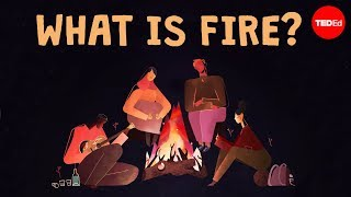 Is fire a solid, a liquid, or a gas? - Elizabeth Cox width=