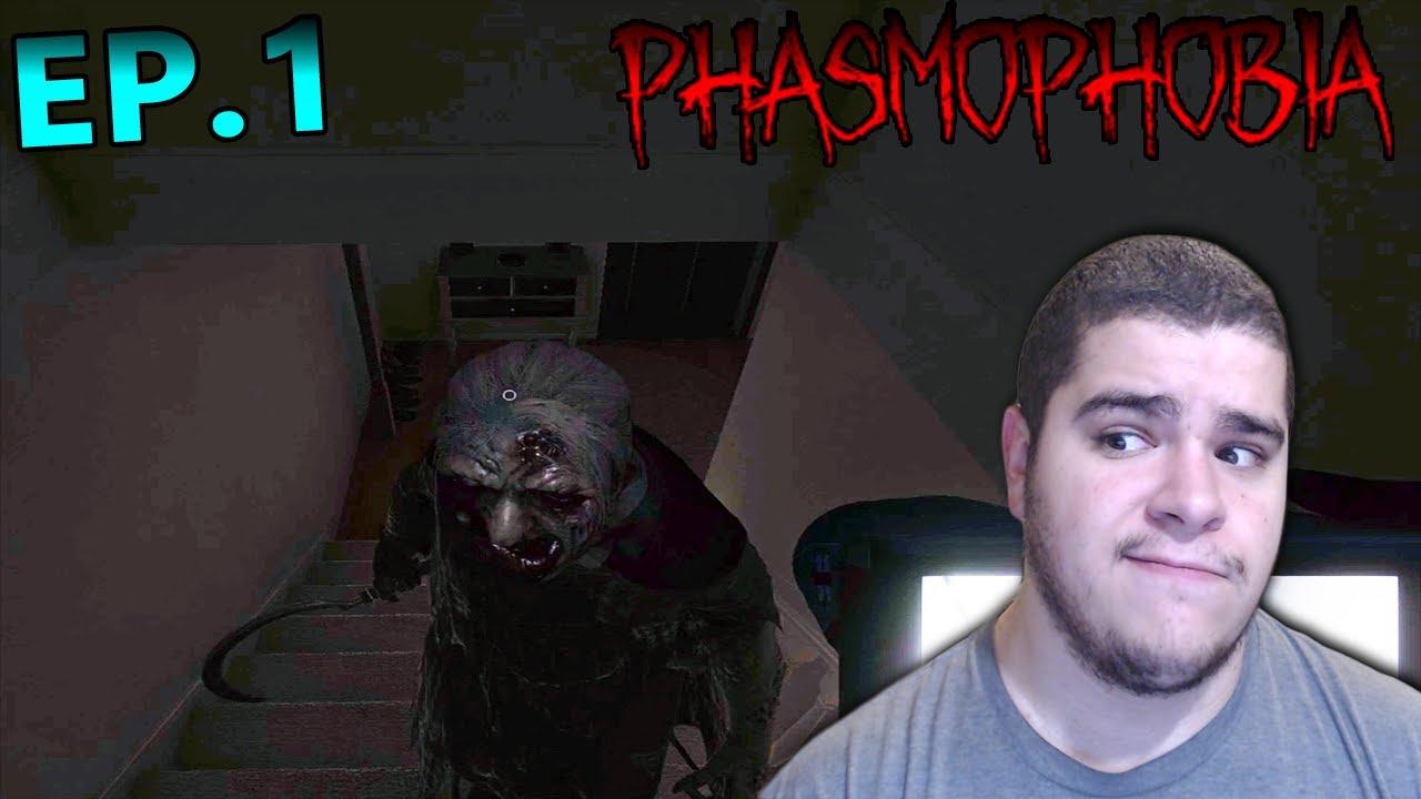 NightShadowXO - The Beginning Of Phasmophbia Part 1 | Paranormal Actvity Here!