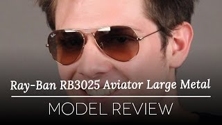 82323726210e Please activate Adobe Flash Player in order to use Virtual Try-On and try  again. Ray-Ban RB3025 Aviator Polarized 002 58. video
