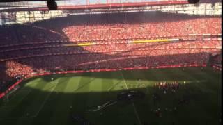 """BAILANDO!"" no final do Benfica 4-1 Nacional (Festa do #35) - Estádio da Luz"