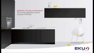 Frontino Video-Seamless Cabinetry hardware
