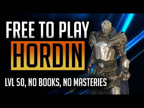 RAID: Shadow Legends | How to build Hordin FTP series! Early game nuker! Level 50, no masteries!