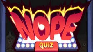 Nope Quiz - Solution Questions 71 à 80