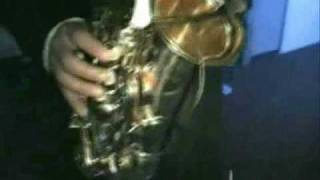 Alane Crazysax et Marc Pandolf  Impro Live Sax Percu Disco