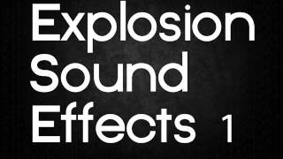 Explosion Sound Effects 1