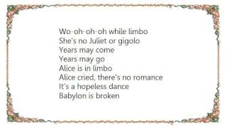 Australian Crawl - White Limbo Lyrics