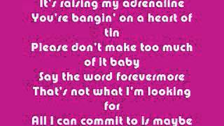 Jennifer Paige Crush Lyrics