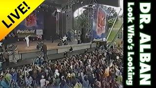 Dr. Alban - Look Who's Talking (live at Stars for free '98)