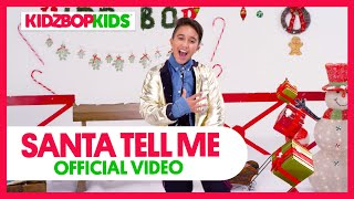 KIDZ BOP Kids - Santa Tell Me (Official Music Video) [KIDZ BOP Christmas]