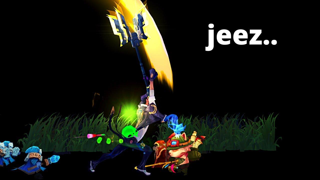 ipav999 - [Full Gameplay] A match I considered to dodge... : Teemo vs Jayce
