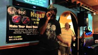 Bill Sellers aka Caveman   Cover Of A Rolling Stone {Karaoke by KeysDAN}