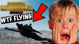 WTF He Was Flying in PUBG Mobile   Funny Moments   Live Insaan