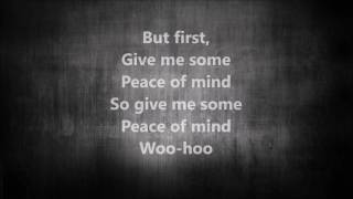 Peace Of Mind - The Vamps Lyrics