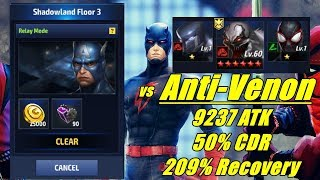 ANDAR 3 - Anti-Venon / Shadowland Marvel Future Fight