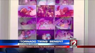 Benefit held in memory of twins who drowned