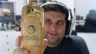 Dava Jonas tomando A CACHAÇA PIMBA - Gameplayrj
