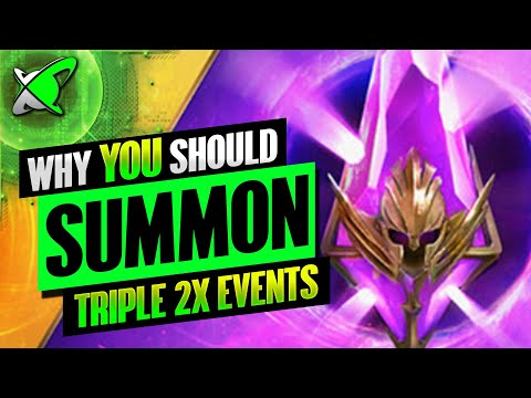 Reasons Why YOU Should Summon !! | TRIPLE 2X EVENT | 2 Year Anniversary | RAID: Shadow Legends