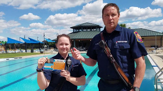 TCNEWSreel - TCFD Drowing Prevention & Pool Safety