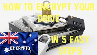 How To Encrypt ANY Drive In 5 Easy Steps - Tutorial Guide