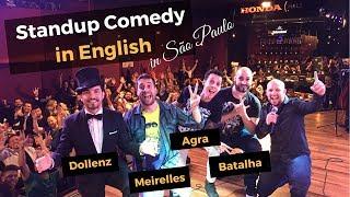 Standup Comedy IN ENGLISH: Maurício Meirelles, Nil Agra, Maurício Dollenz e Cassiano Batalha