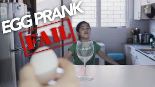 Egg Prank Fail