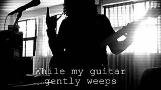 The Beatles - While My Guitar Gently Weeps (GUITAR COVER) AUDIO
