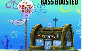 Spongebob Trap Remix Krusty Krab (Bass Boosted)