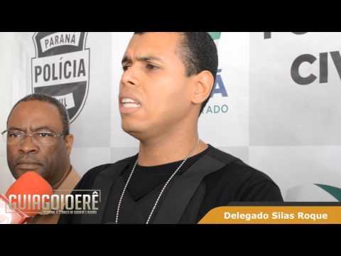 Entrevista do Dr. Silas Roque sobre as prisões e apreensões desta terça-feira. 02