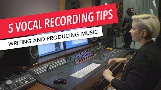 Studio Techniques: 5 Tips for Recording Vocals in Pro Tools | Writing and Producing Music