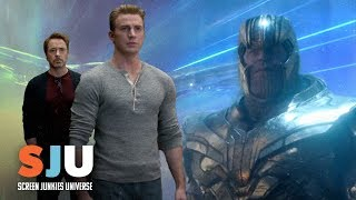 Talking That Special Look Avengers: Endgame Trailer | SJU