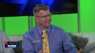 El pastor Mark Eisold nos habla de clínicas de visión gratis