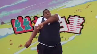 fat dude dancing to yu yu hakusho