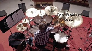 Foo Fighters - Rope drum cover
