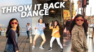 THROW IT BACK DANCE (Everytime this song plays) | Ranz and Niana