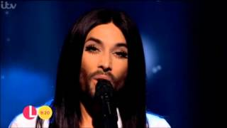 "Conchita Wurst - You Are Unstoppable, ""Lorraine"", 12.10.2015"