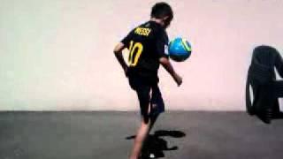 freestyle football par warren 12 ans