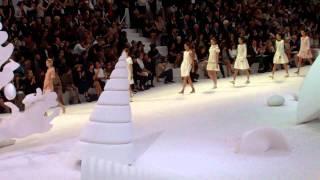 AFTV, Abraão Ferreira aka Abe Fabulous at ParisFW Spring/Summer 2012 Chanel Show Finale